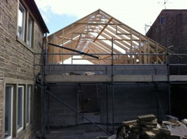 Roof Trusses for Mr Packwood Extension